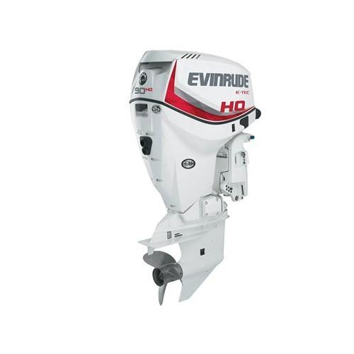 2016 EVINRUDE E90HGL E-TEC OUTBOARD MOTOR