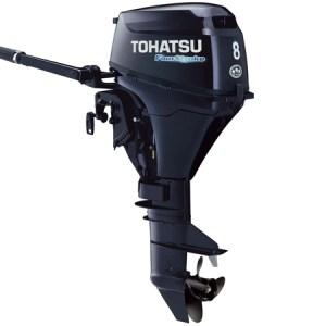 2017 Tohatsu 8 HP MFS8BL Outboard Motor