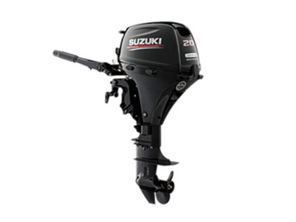 2018 Suzuki Marine 20 HP DF20AL EFI Outboard Motor
