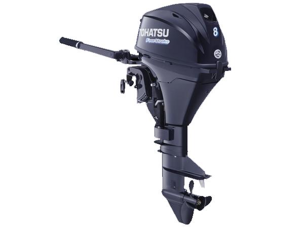 2018 Tohatsu 8 Hp MFS8BEFL Outboard Motor