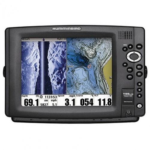 HUMMINBIRD 1199CI HD SI CHARTPLOTTER FISHFINDER COMBO