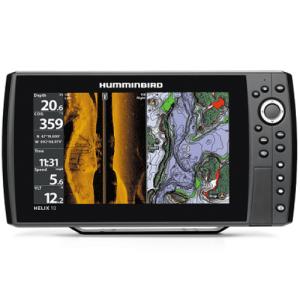 HUMMINBIRD HELIX 10 SI FISHFINDER GPS COMBO