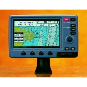 SI-TEX COLORMAX WIDE GPS CHARTPLOTTER WITH EXTERNAL ANTENNA