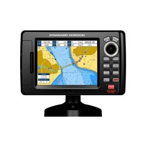 STANDARD HORIZON Chart Plotter, 5inch color, GPS, Basemap