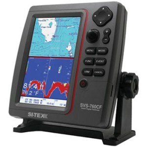 Si-Tex SVS-760CF Chartplotter / Fishfinder with External GPS Antenna