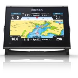Simrad GO9 XSE with CMAP Charts