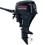 2015 Nissan 15 Hp NSF15C1 Outboard Motor