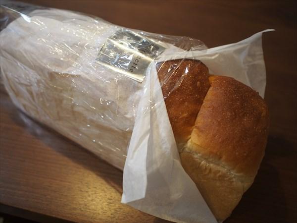 ルセットの食パン 袋から出した状態