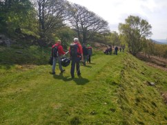 Setting off on the litter-pick