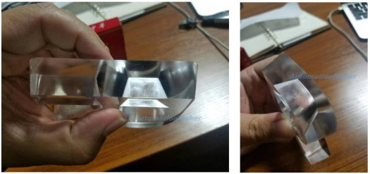 Perfect cut, clear cut, thick Acrylic plastic