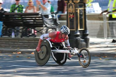 Krige at the 2012 Paralympics in London