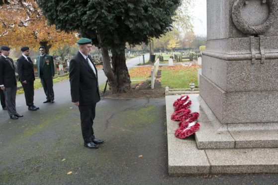South African Veterans' Armistice Day Parade @ Richmond Cemetery