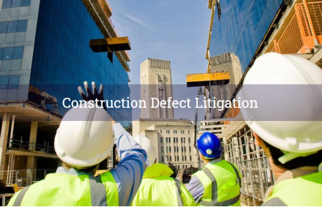 Construction Defect Litigation