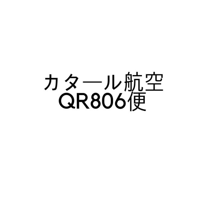 カタール航空QR806便(ドーハ~成田)に搭乗したのでレポート