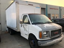 Sale Maker Auctions - GMC Box Truck