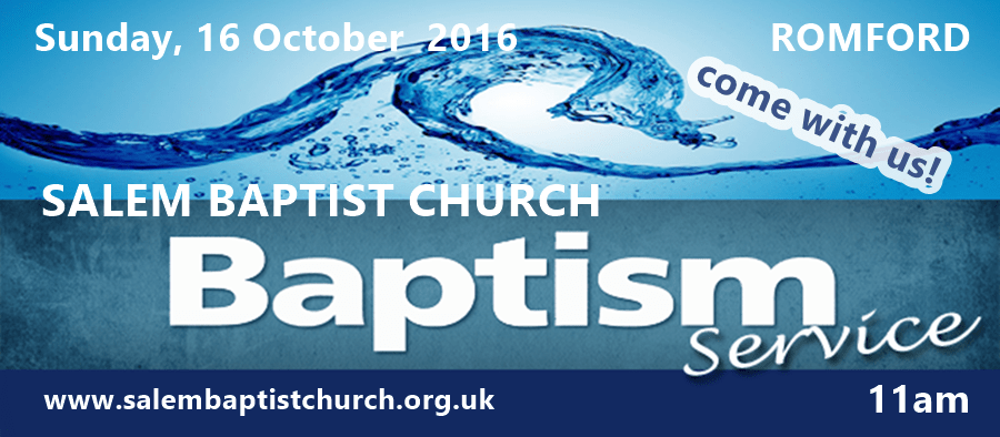 With great joy we announce a Baptismal Service!