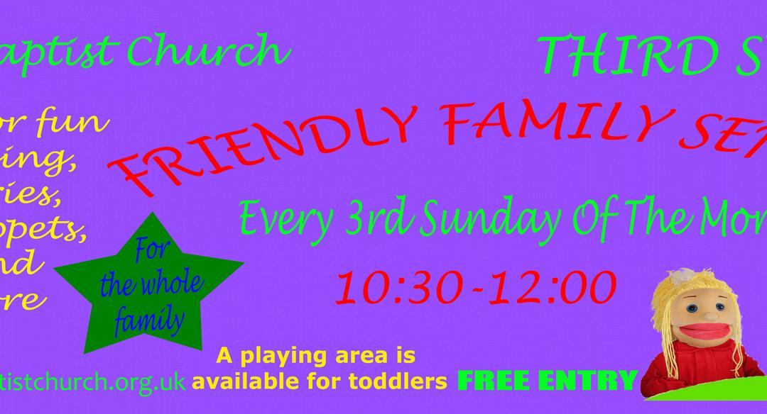 Third Sunday / Family Service