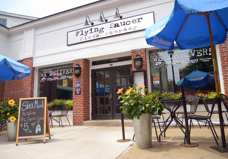 Image result for Flying Saucer Pizza