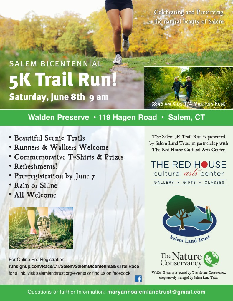Salem Bicentennial 5K Trail Run Results – Salem Land Trust