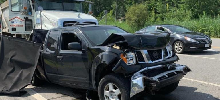 Salem Police Department Responds to Crash Involving School Bus