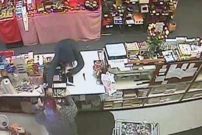 Salem Police are actively seeking a suspect in an armed robbery on Friday. (Courtesy Photo Salem Police Department)