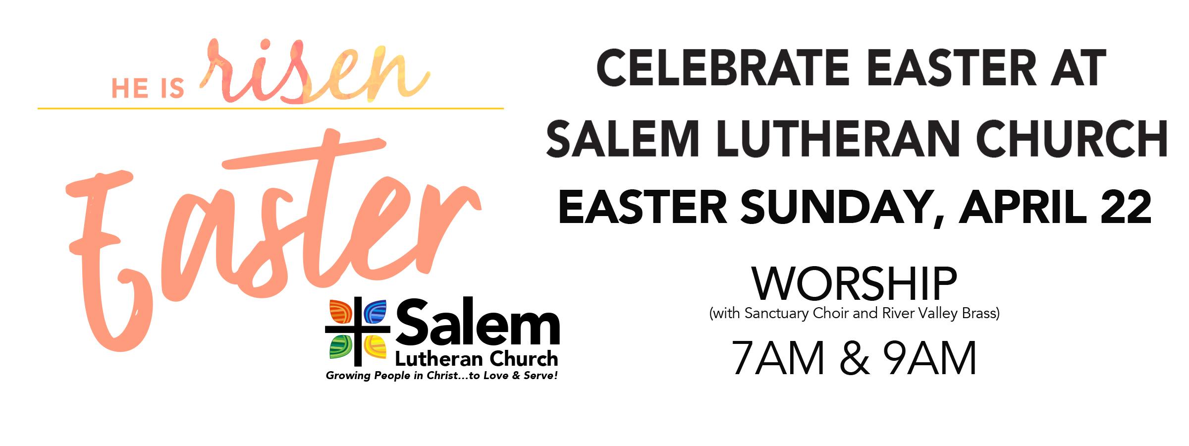 Easter 2019 slider