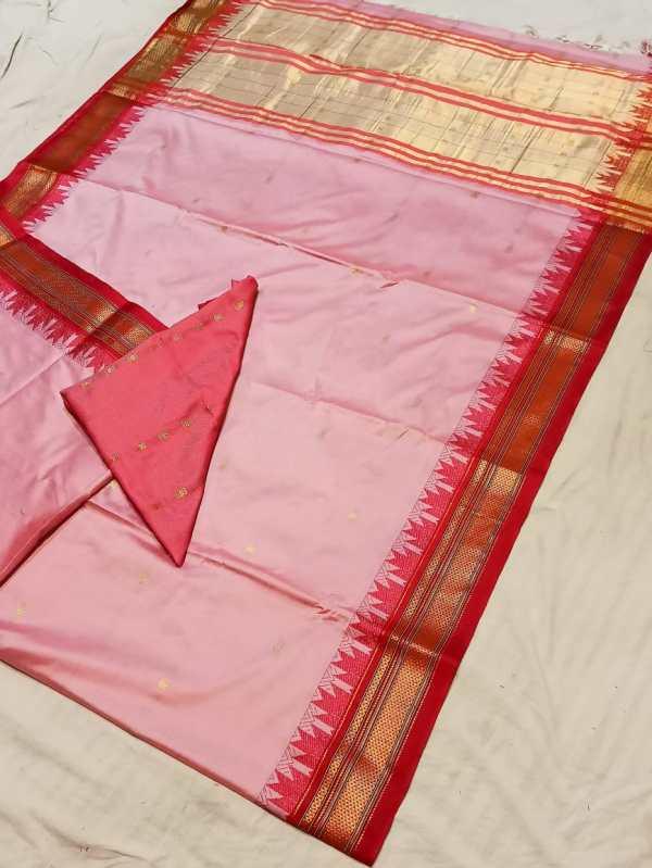 cotton silk paithani