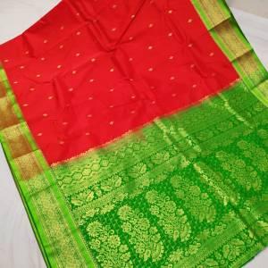 Semi Silk Kanjivaram Saree (Range-2) – Red