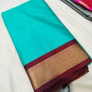 Soft Cotton Silk Sico Paithani Saree