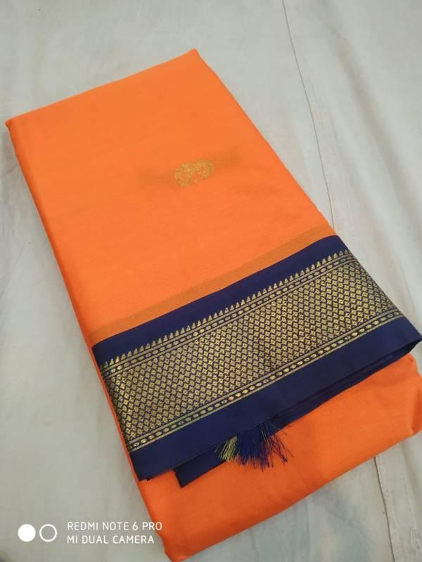 cotton silk paithani saree