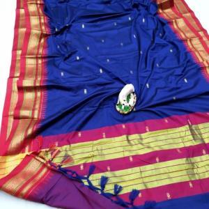 Irkal Sico Soft Cotton Silk Paithani Saree