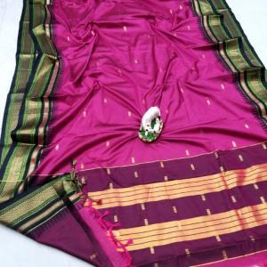 Irkal Sico Soft Cotton Silk Paithani Saree (Range-2)