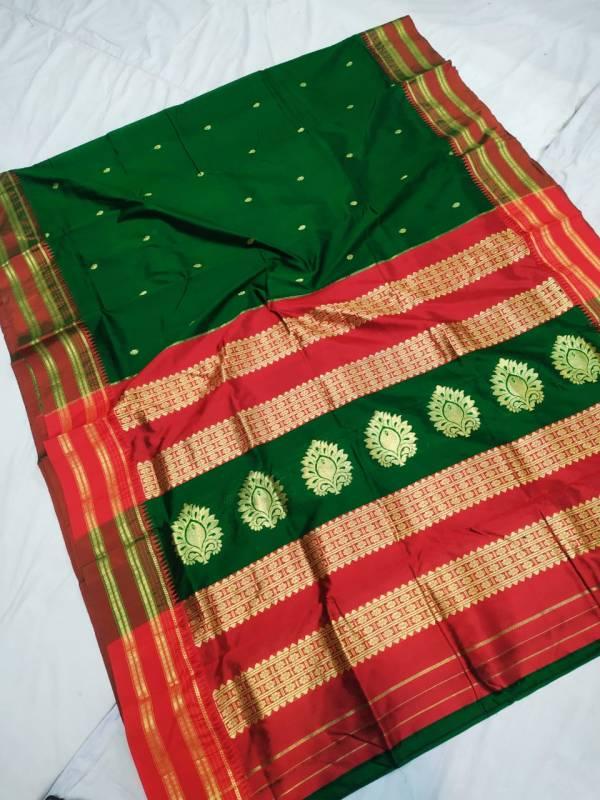 pure silk narayan peth saree price