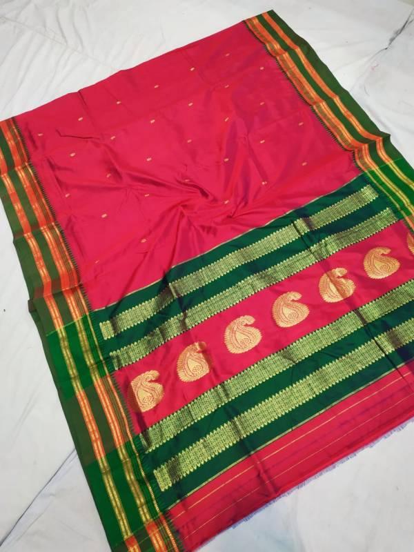 narayan peth pure silk saree price