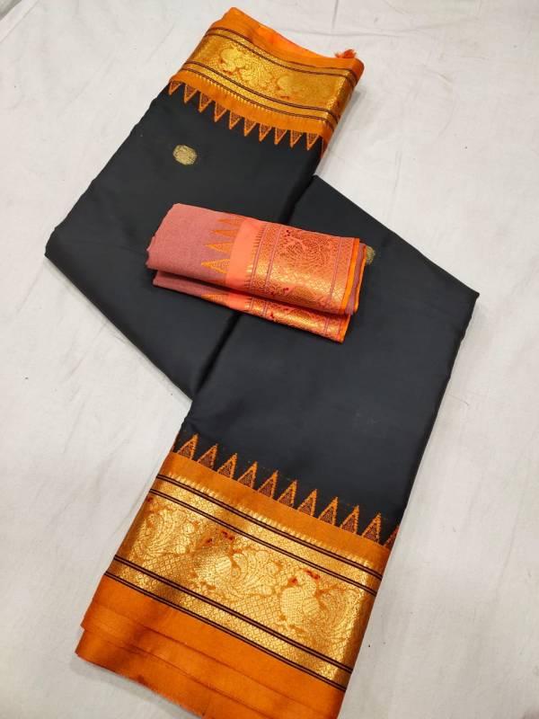 black sico paithani saree
