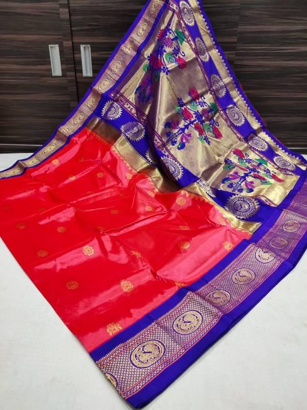 semi paithani saree online