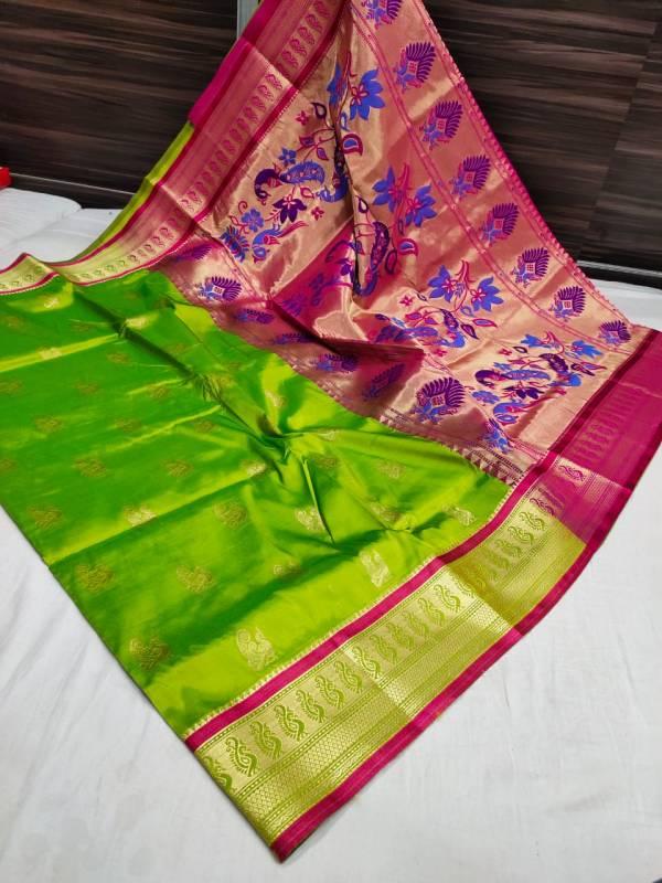 semi paithani sarees price