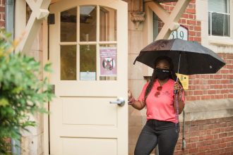 Resident Assistants were eager to welcome students to their new home away from home.