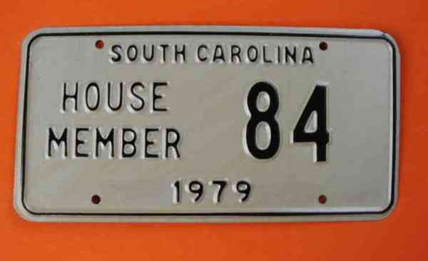South Carolina 1979 House Member 84 See Pictures