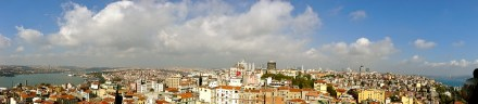 Panorama from the Galata Tower.