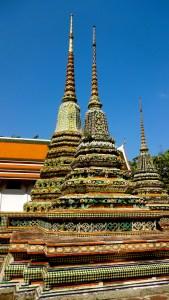 Exploring Wat Pho.