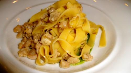 Tagliatelline Pasta with Duck Ragu.