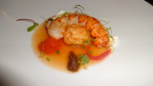 Panzanella of Lobster.