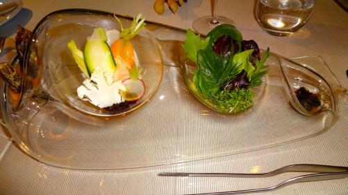 Salad Course.