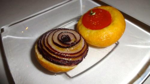Onion and Tomato Bread.