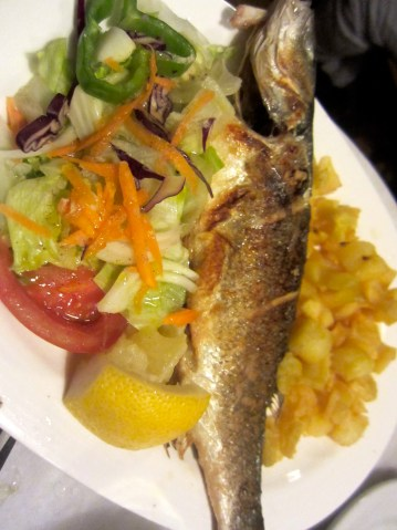 Grilled Whole Fish,