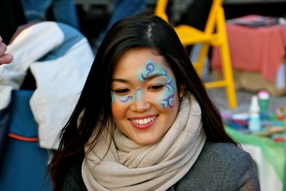My First Time at Carnevale I Got My Face Painted!