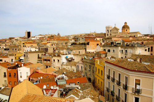 View of Cagliari.