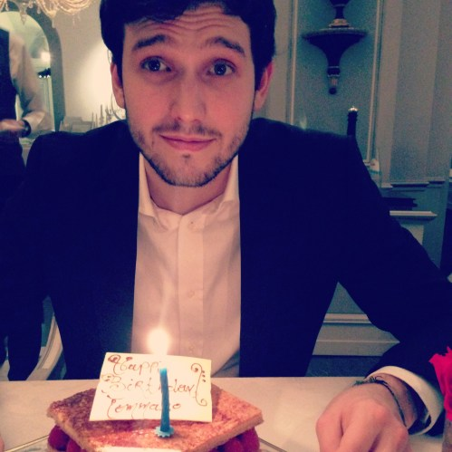 The Birthday Boy, How Cute is He?