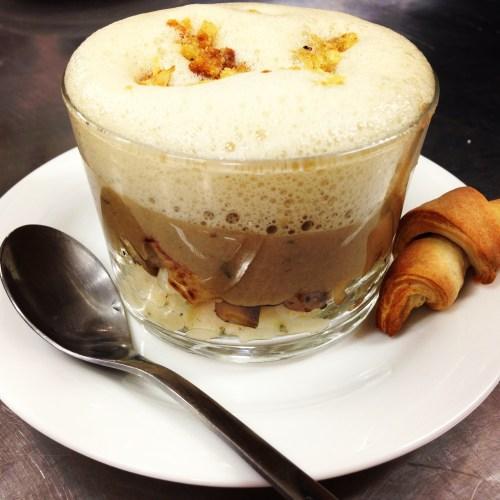Mushroom Cappuccino.